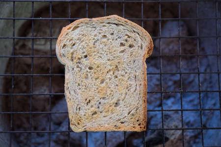 whole wheat toast: Sliced whole wheat grilled toast