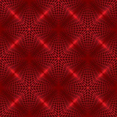 lattice: red lattice like folded paper forms crest