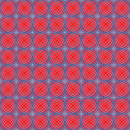 lattice: blue wavy lattice on red background Illustration
