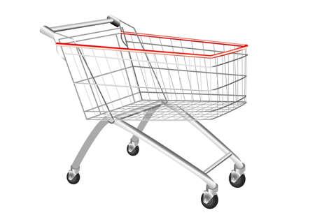 shopping cart Stock Vector - 11295595