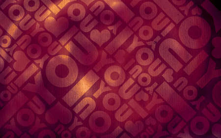 Romantic love typographic texture background photo