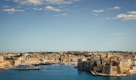 La Valletta in Malta Landscape