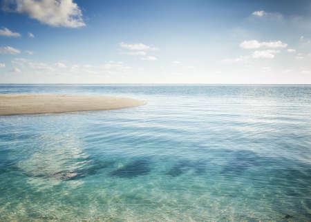 Tropical Sea Island Stock Photo