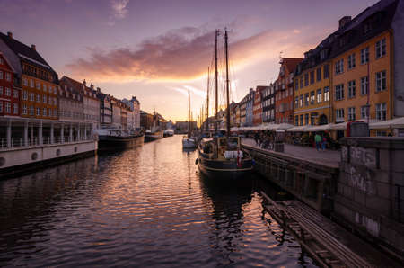 Romantic Nyhavn Copenhagen Denmark
