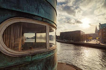 Conrol tower on Torvegalde, Copenhagen