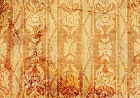 old wallpaper: Vintage background - old wallpaper Victorian style, design.