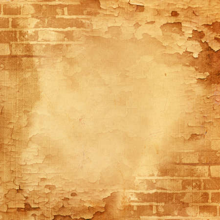 Green abstract wall, brick, cracked paint Stock Photo - 13006153