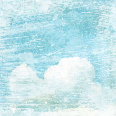 photoalbum: An abstract vintage texture background with clouds. Page to design photo books