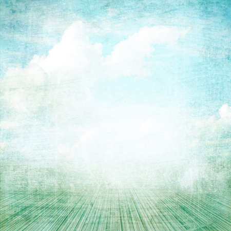 Blue background image for the photo album, photo book with grunge texture