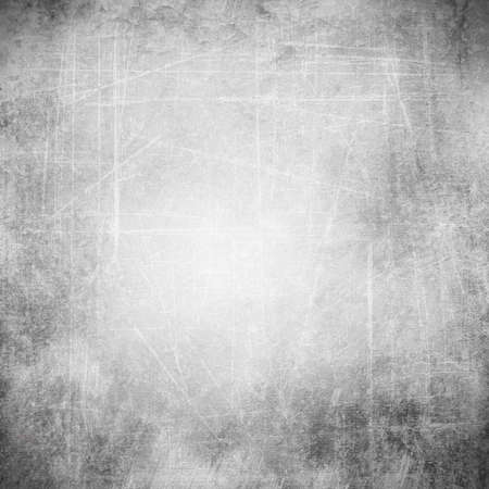 Gray background image for the photo album, photo book with grunge scratches texture  Banque d'images