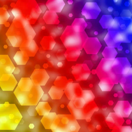 gleam:  abstract background with bokeh lights  Stock Photo