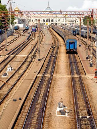 Old Railway Station  Odessa, Ukraine  Stock Photo - 16232905