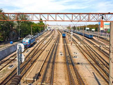 Old Railway Station. Odessa, Ukraine. Stock Photo - 16239936