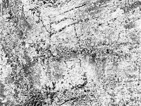 monochrome texture of old wall with cracks. Vintage background  Stock Photo - 16240092