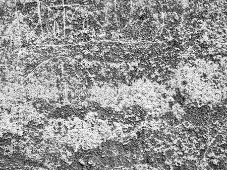 monochrome texture of old wall with cracks. Vintage background Stock Photo - 16240180