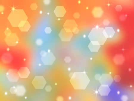 Rainbow abstract background with bokeh highlights. Bright and tender basis for design holiday cards or title Stock Photo - 16240049