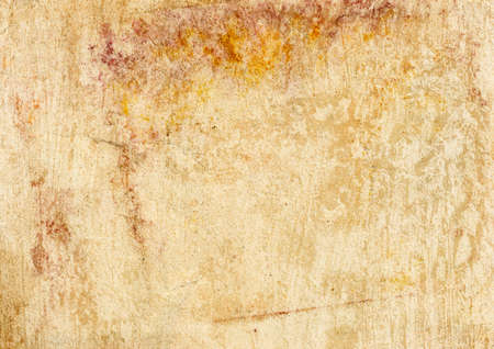 Grunge vintage old paper background. Texture of rusty spots Stock Photo - 16240172