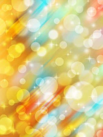 Abstract multi-coloured celebration light background Stock Photo - 16729289