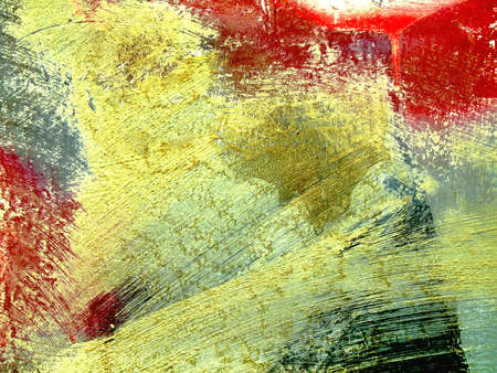 Abstract colorful background with dabs of paint. Texture Banque d'images