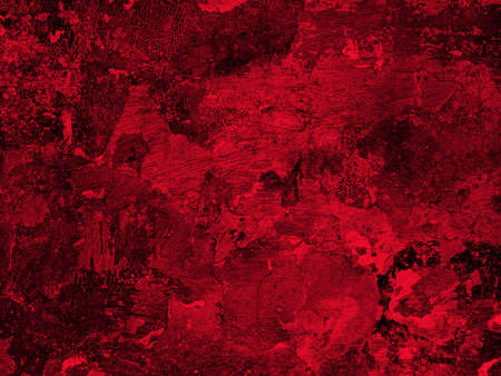 Old red plaster wall texture. Abstract background