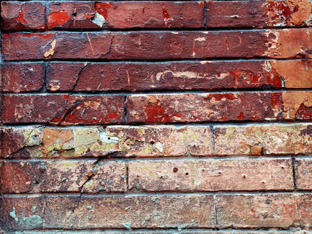 Background image for the photo album, photo book with grunge brick old wall