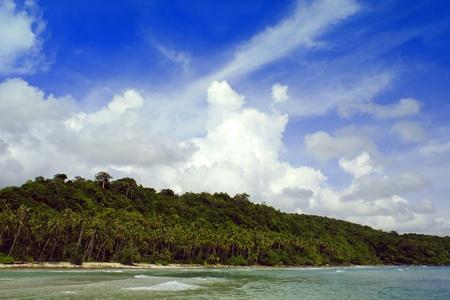 koh tao: Sea of Koh Tao Island Stock Photo