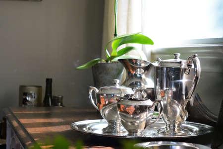Still life of silverware