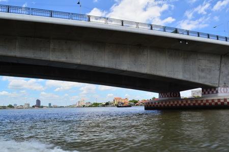 Bridge to cross the river.
