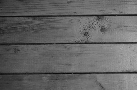 White and Black Wood Floors.