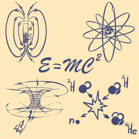 wormhole: Physycs concepts doodles. Lecture notes.