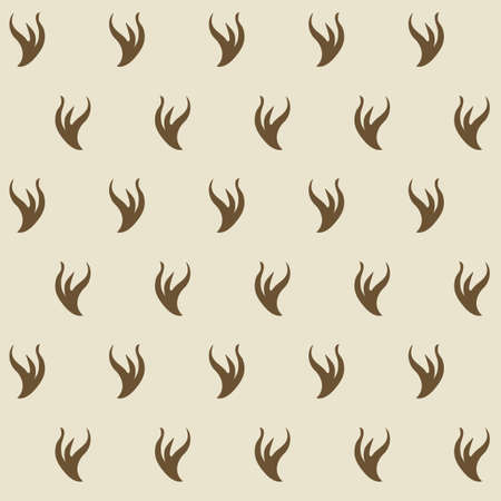 Stilyzed ermine fur seamless pattern. Appears as a lining for royalor judjes mantles. Represents authority and power. Element for designing Coats of arms, medieval style illustrations. EPS 10 vector