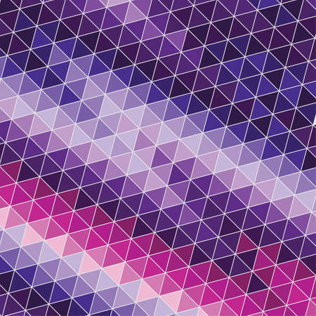 Abstract background with violet and pink triangles Vettoriali