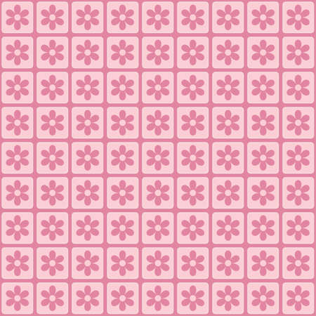 Pink floral background for cards, wrapping, web page backgrounds, textile designs, fills, banners, events invitation, menus, prints and scrapbooking