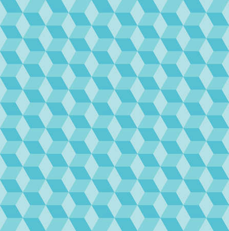 Seamless vector pattern with blue rhombs. Can be used as background for business cards, banners or prints.