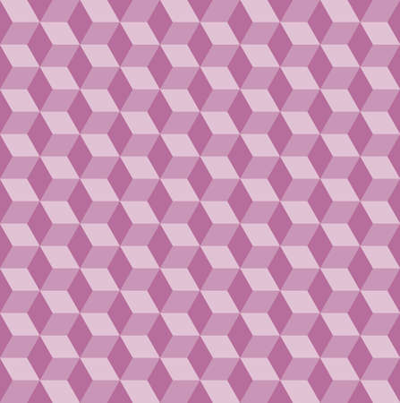 Seamless vector pattern with pink rhombs. Can be used as background for business cards, banners or prints.
