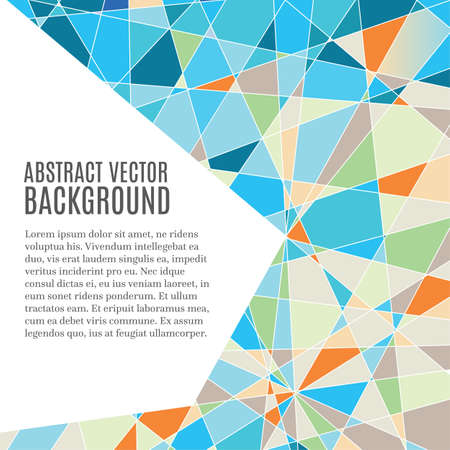Abstract modern background with copy space Illustration