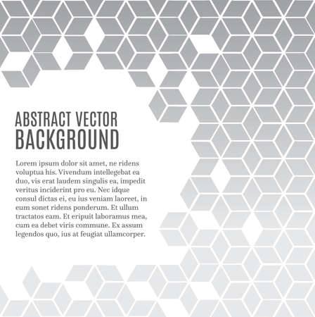 Abstract modern background with copy space Vettoriali
