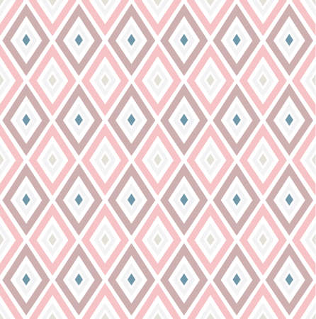 Seamless vector pattern with rhombs. Can be used as background for business cards, banners, various prints and textiles. Illustration