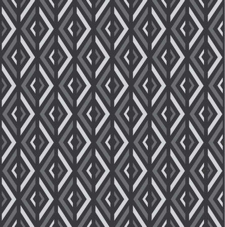Seamless vector pattern with rhombs. Can be used as background for business cards, banners, various prints and textiles. Vettoriali