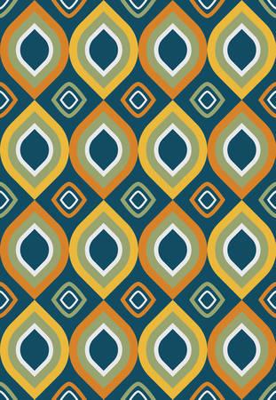 Modèle vectorielle continue avec des formes géométriques. Peut être utilisé comme arrière-plan pour des cartes de visite, des bannières, divers imprimés et textiles.