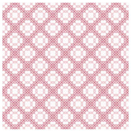 Seamless background with delicate symmetrical ornament pattern for web page backgrounds, textile designs, fills, banners