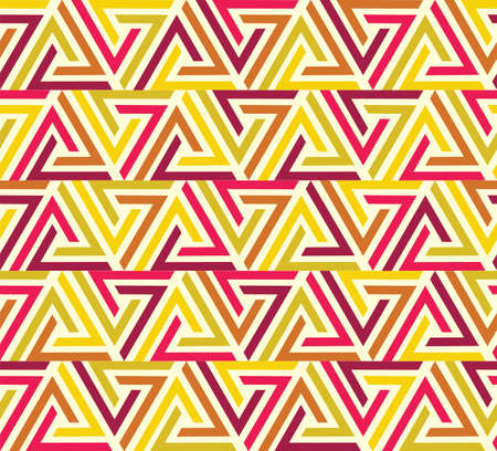 Seamless geometrical pattern with colourful shapes