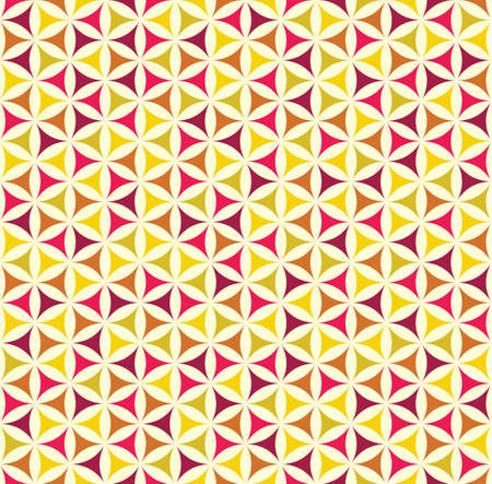 Seamless geometrical pattern with colourful shapes Archivio Fotografico - 121819094