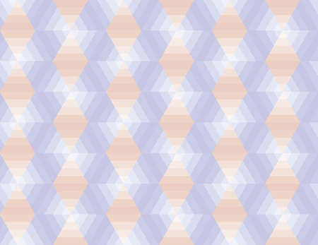 Seamless geometrical pattern with violet shapes