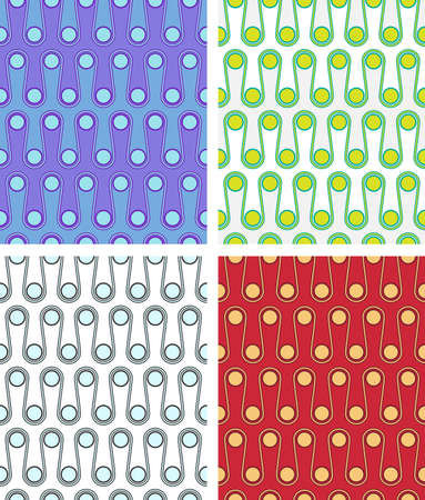 mishmash: seamless pattern for web design or wrapping