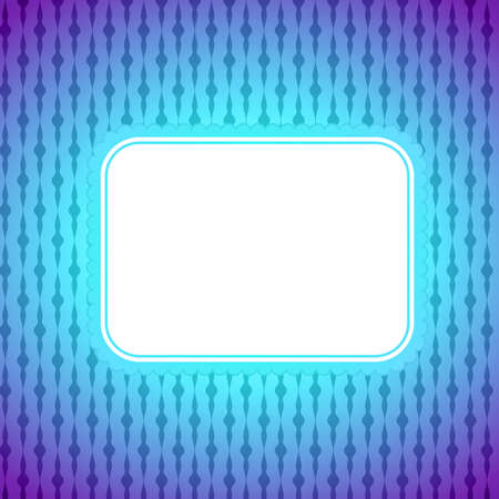 Square artistic banner, colorful lighting background  Retro pattern Vector
