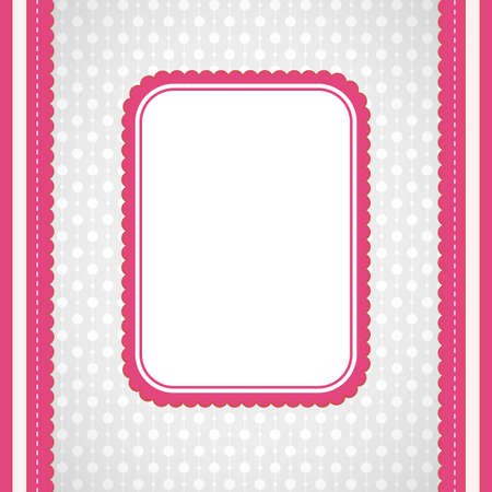 vector squared label on artistic background. Greeting card Stock Vector - 17221463