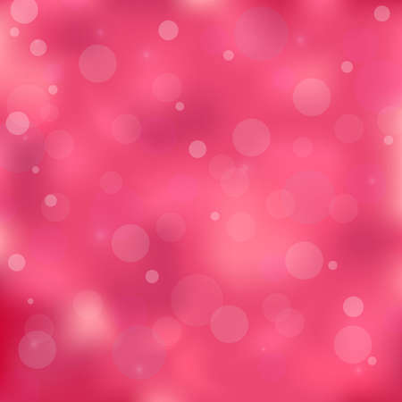 Pink colored bokeh light background.  Stock Vector - 17945350