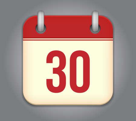 kalender app icoon