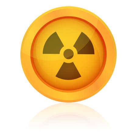 Vector radiation symbol Stock Vector - 20913366